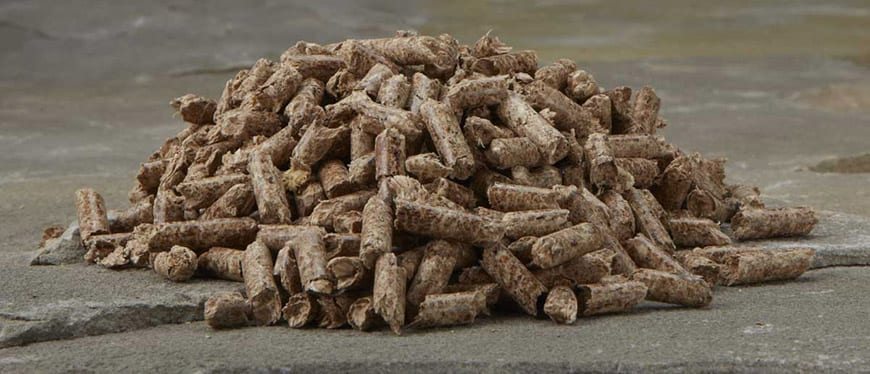 Food Grade Pellets used for grilling