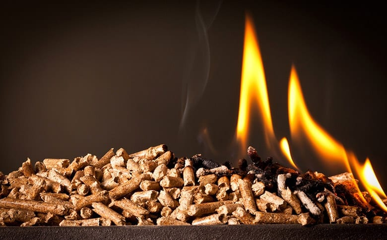 are wood pellets healthy?