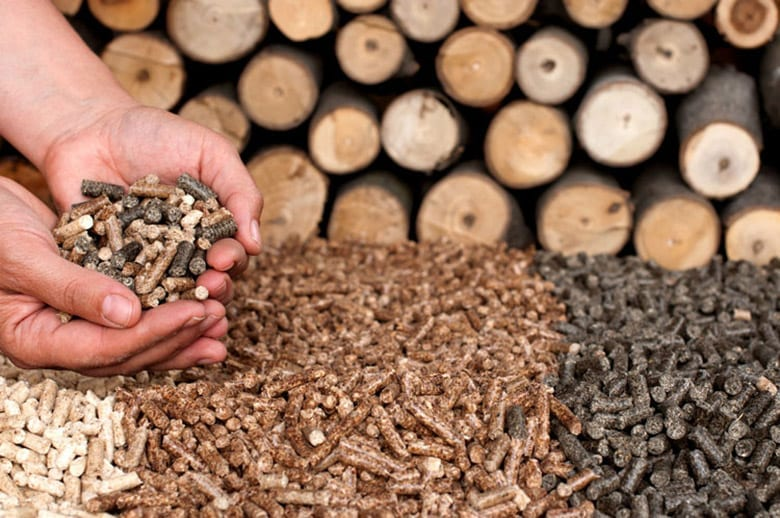 quality wood pellet types
