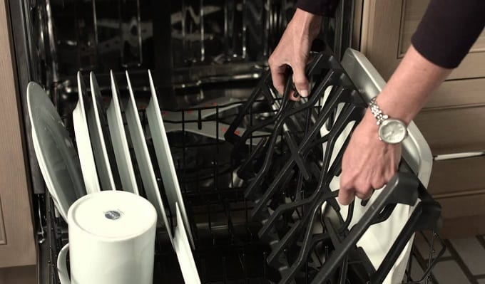 Putting Grill Grate In Dishwasher