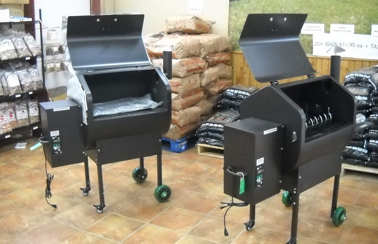 Two Pellet Grills In Store